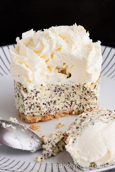 Food L, Love Food, Cap Cake, Sweet Desserts, Cheesecake Recipes, Cheesecakes, Vanilla Cake, My Recipes, Food And Drink