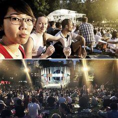 Nice evening watching a solid performance of #shakespeare #julius #caesar @ Fort Canning Green #Singapore #picnic #underthestars #sgarts #srtjuliuscaesar