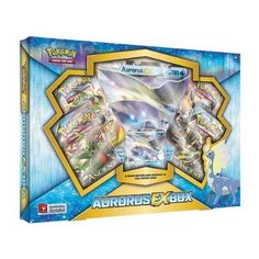 ies Aurorus-EX Box Pokemon Card Game