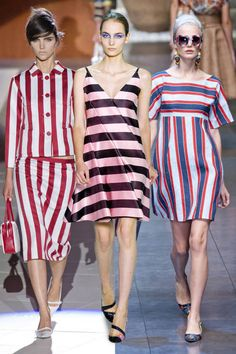 Stripes are a huge hit for spring 2013 #trends #fashion
