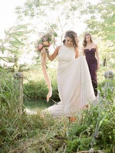 wildflower Texas wedding
