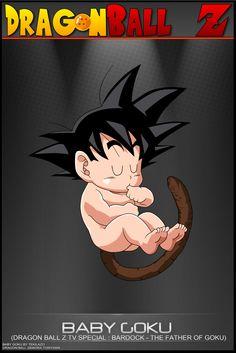 Dragon Ball Z - Baby Goku by DBCProject.deviantart.com on @DeviantArt