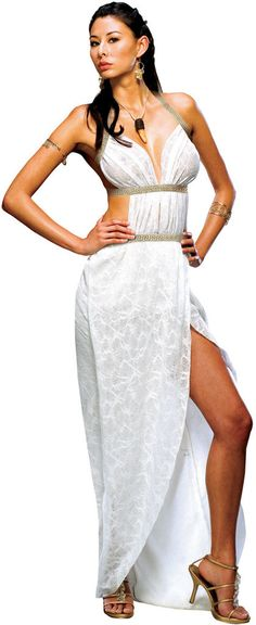 women's costume: gorgo queen of sparta | medium