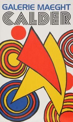 Alexander Calder, American (1898 - 1976)  Title: Galerie Maeght  Year: circa 1970