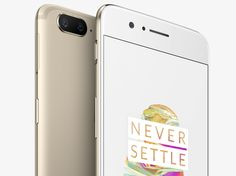 You can now get the OnePlus 5 in gold