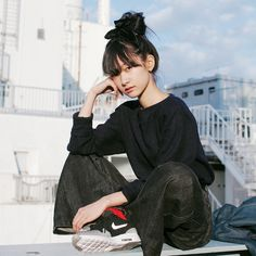 ドロップスナップ!あわつまい, モデル | droptokyo Name: Awatsumai | あわつまい Occupation: Model | モデル Cut&Sewn: N.HOOLYWOOD | エヌハリウッド Denim Pants: Maison Martin Margiela | メゾン マルタン マルジェラ Shoes: NIKE AIR MAX | ナイキ エア マックス