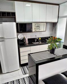 Kitchen Room Design, Kitchen Cabinet Design, Modern Kitchen Design, Home Decor Kitchen, Interior Design Kitchen, Home Kitchens, Small Kitchens, Kitchen Small, Kitchen Cabinets