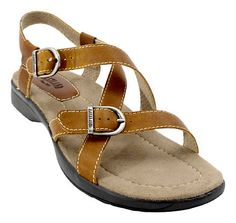 Womens Eastland Lagoon Leather Buckle Sandal http://www.greatsandals.com/i1335235/718067/products/Eastland-Lagoon-Leather-Buckle-Sandal.html