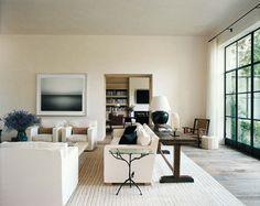 www.annagillar.se Interiors/Atelier AM by Alexandra and Michael Miszcynski & photo by Francois Halard.