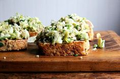 Smoked Trout and Avocado Salad Toasts Recipe on Food52 recipe on Food52