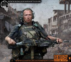 post apocalyptic soldier by dog-green-1 on DeviantArt Nuclear Apocalypse, Post Apocalyptic, Custom Paint, Airsoft, Dogs, Deviantart, Fictional Characters, Green, Pet Dogs