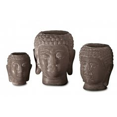 Grote buddha kaarsen van Chapeau Kaarsen