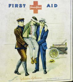 First Aid Kit.  This was an advertisment from Johnson & Johnson.
