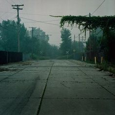 Looks like it could be Silent Hill; looks like it could be The Last of Us.