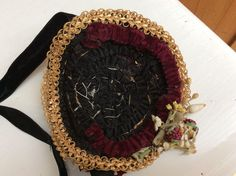 Stunning winter bonnet for Huret or French Fashion size 4 from fashion-poupees on Ruby Lane