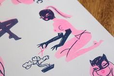 Down Time_risograph_NerylWalker