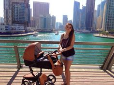 """Shiewa said, """"My daughter Persis Aurea and I are enjoying our Mima! We have been to Dubai and we are really happy with it! Really easy to travel with and really comfortable for the baby."""""""