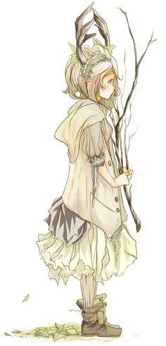 #morifanart, #morikei, #mori, #forestgirl: