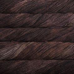 Merino Worsted Marron Oscuro, ein warmes, dunkles, reiches Braun - Woolpack