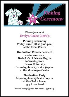 Help With Your University Graduating Ceremony Invites And College - Graduation commencement invitation