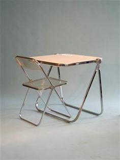 Platone Folding Desk, 1971, by Giancarlo Piretti