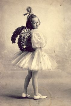 Little Fairy with STYLISH WINGS and TUTU Is Ready for the Dance Recital Photo Circa 1905 by NiepceGallery on Etsy https://www.etsy.com/listing/208969538/little-fairy-with-stylish-wings-and-tutu