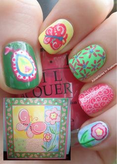 Child's Room Decoration nail art