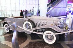 There's a new pop-up Liberace exhibit at The Cosmopolitan, including this roadster.