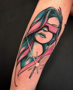 Outrun lady done at Star of Texas Tattoo Convention by Squire Strahan - Trilogy Tattoo (Riverview FL) Hand Tattoos, Music Tattoos, Body Art Tattoos, New Tattoos, Tribal Tattoos, Sleeve Tattoos, Tattoos For Guys, Tattoo Art, Black Tattoos