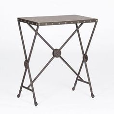 Elizabeth Side Table With Antique Black By Gabby