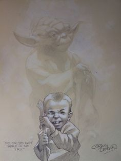 Great Idea for a photo shoot! Star Wars - Do or Do Not by Craig Davison