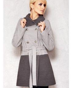 Płaszcz Model M011 Grey - Moda damska - 2012 - TrendCity.pl