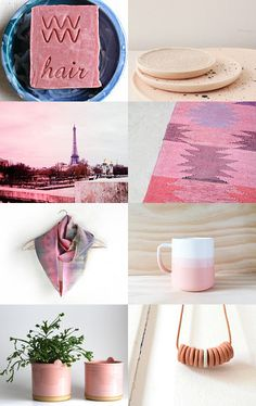 Think Pink by Annie Barber on Etsy--Pinned with TreasuryPin.com