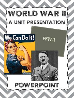 A PowerPoint Presentation covering World War II.  Aligned with 5th Grade Social Studies Standards in Georgia.  100% Editable!