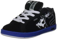 Etnies Metal Mulisha Fader Skate Shoe (Toddler/Little Kid/Big Kid) on Sale Metal Mulisha, Skate Shoes, Toddler Outfits, Big Kids, 3 D, Running Shoes, Trainers, Black And Grey, Husband