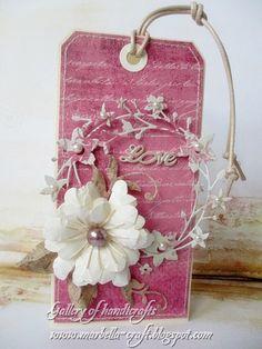 Gallery of handicrafts Honeyblossom Sprig - Memory Box
