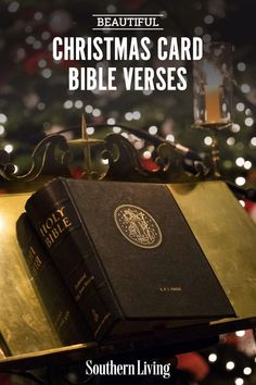 The holiday season is the perfect time to express your faith, and Christmas Bible verses are beautiful, uplifting, and heartfelt! If you're searching for the perfect Christmas verses for holiday cards, look no further. We've compiled a list of some of the best ones. #christmascardideas #whattowriteinachristmascard #christmasbibleverses #holidaycards #southernliving Christmas Bible Verses, Isaiah 7, Wonderful Counselor, Beautiful Christmas Cards, Prince Of Peace, Southern Sayings, A Child Is Born, Names Of Jesus, Holiday Cards