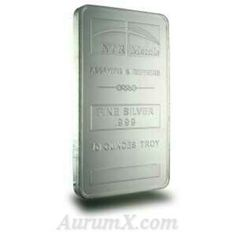 10 oz silver bar from ntr metals