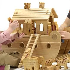 Natural Wood Fair Trade Noah's Ark £164.00