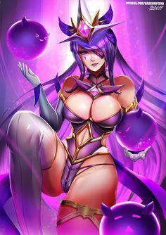 Star Guardian Syndra by BADCOMPZERO.deviantart.com on @DeviantArt - More at https://pinterest.com/supergirlsart League of Legends #lol #leagueoflegends #female #fantasy #art #fanart