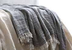 Linen Throws | Beautifully Soft Pure Linen | Hale Mercantile Co