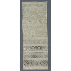 Sampler - Victoria & Albert Museum - Search the Collections Needlework, Museum, Embroidery, Antiques, Lace, Collection, Style, Antiquities, Swag