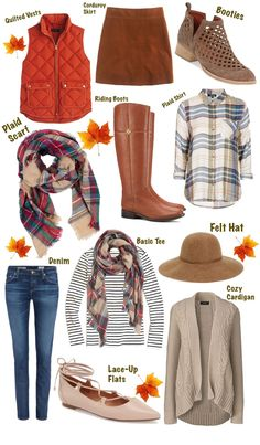 How To Build The Perfect Fall Wardrobe… - moda Preppy Fall Outfits, Preppy Style, Fall Winter Outfits, Autumn Winter Fashion, Casual Outfits, Cute Outfits, Preppy Winter, Preppy Boys, Summer Outfits