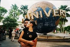 The Weeknd and Bella Hadid in Singapore Universal Studios Angel Aesthetic, Night Aesthetic, Katy Perry, Instagram Feed, Abel And Bella, The Weeknd Music, Bella Hadid News, Collage Des Photos, Isabella Hadid