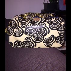 Fossil Key'Per bag Makeup or toiletries or whatever you want to put in it. This bag is cute and awesome!!!! Fossil Bags Mini Bags