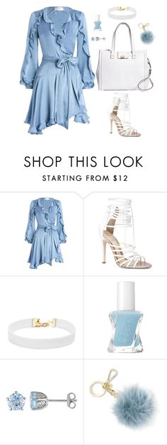 """""""Untitled #484"""" by hayleyl22 ❤ liked on Polyvore featuring Zimmermann, ALDO, Vanessa Mooney, Essie, Laura Ashley, Michael Kors and Brooks Brothers"""