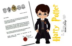 Lettre d´admission - cycle3 École Harry Potter, Cycle 3, Harry Potter Classroom, Anniversaire Harry Potter, Kids, Montages, Toddlers, Bullet Journal, Animation