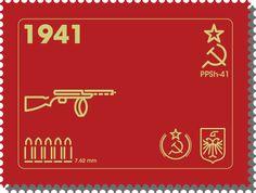 PPSH 41 - El arma que gano la Gran Guerra Patria E501e94384acc211cbd7de7e08d8272d--firearms-motion-graphics