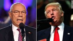 Colin Powell: Donald Trump is 'an international pariah'