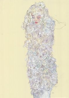 Comme des Garçons S/S 2012 by Howard Tangye for A Magazine curated by Stephen Jones